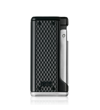 Colibri Monza III - Triple Jet Cigar Lighter - Black and Silver (End of Line)