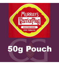 Murray's Warrior Plug Pipe Tobacco 050g Pouch