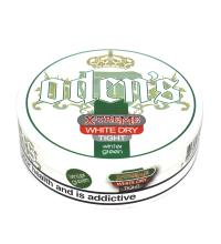 Odens X-Treme White Dry Tight Wintergreen Chewing Tobacco Bag - 1 Tin