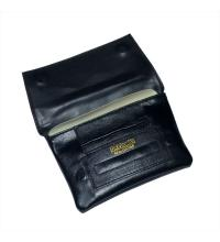 Dr Plumb Button & Back Zip Tobacco Pouch