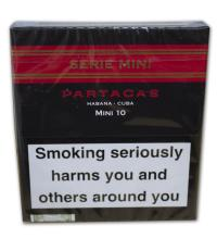 Partagas Mini Cigarillos - Serie -  Black and Red - Pack of 10