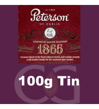 Peterson 1865 Mixture Pipe Tobacco - 100g Tin