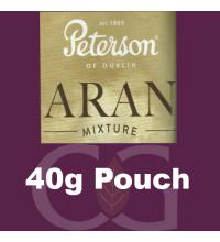 Peterson Aran Mixture Pipe Tobacco - 40g Pouch