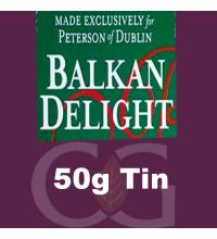 Peterson Balkan Delight Pipe Tobacco 050g Tin