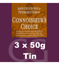 Peterson Connoisseurs Choice Pipe Tobacco - 150 (3 x 50g Tins)
