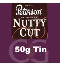 Peterson Nutty Cut Pipe Tobacco 50g Tin
