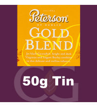 Peterson Gold Blend Pipe Tobacco 50g Tin