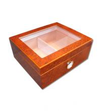 Eaton Glass Top Humidor � Best Buy - 40 Cigar Capacity