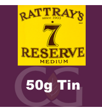 Rattrays 7 Reserve Pipe Tobacco 50g Tin