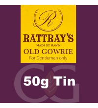 Rattrays Old Gowrie Pipe Tobacco 50g Tin