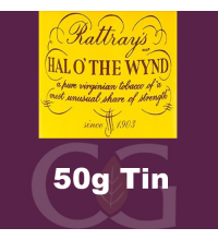 Rattrays Hal O the Wynd Pipe Tobacco 50g Tin