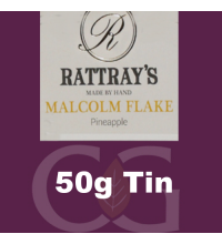 Rattrays Malcolm Flake Pipe Tobacco 50g Tin