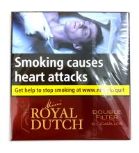 Ritmeester Royal Dutch Double Filter Red (Formerly Mini Moods)  - Pack of 10