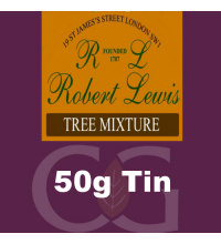 Robert Lewis Tree Mixture Pipe Tobacco 50g Tin