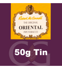 Robert McConnell Oriental Mixture Pipe Tobacco 50g Tin