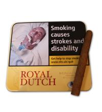 Ritmeester Royal Dutch Miniature Yellow – Tin of 10