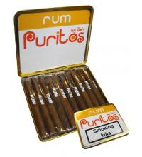 Flavoured Puritos – Rum - Tin of 10