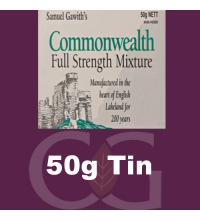 Samuel Gawith Commonwealth Mixture Pipe Tobacco - 50g Tin
