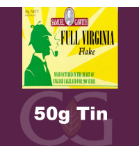 Samuel Gawith Full Virginia Flake Pipe Tobacco 50g Tin