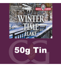 Samuel Gawith Seasons Wintertime Flake Pipe Tobacco 50g Tin