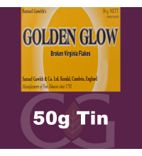 Samuel Gawith Golden Glow Broken Flake Pipe Tobacco 50g Tin