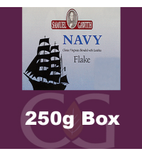Samuel Gawith Navy Flake Pipe Tobacco 250g Box