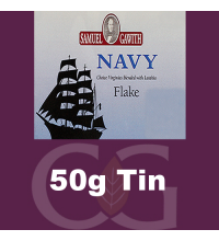 Samuel Gawith Navy Flake Pipe Tobacco 50g Tin