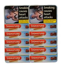 Signature (Formally Cafe Creme) Blue Cigar - 10 x Tin of 10 (100)