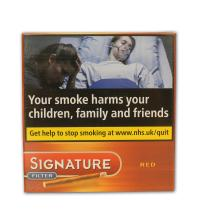 Signature Filter Red Cigar - Pack of 10