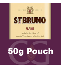 St Bruno Flake Pipe Tobacco - 50g Pouch