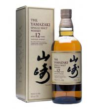 Suntory Yamazaki 12 Year Old Japanese Single Malt Whisky - 70cl 43%