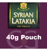 McLintock Syrian Latakia Pipe Tobacco 040g Pouch