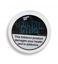 Iceboom White Dry Chewing Bag Tobacco Tin