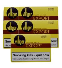 Villiger Export Round Cigar - 5 Packs of 5 (25)