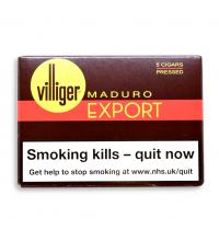 Villiger Export Pressed Maduro Cigar  - Pack of 5