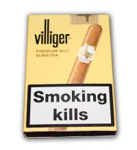 Villiger Premium No. 7 Cigar - Pack of 5 cigars
