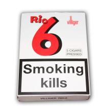 Villiger Rio 6 Cigar - 5 Packs of 5