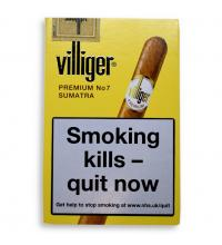 Villiger Premium No. 7 Cigar - Pack of 5