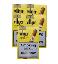 Villiger Premium No. 7 Cigar - 5 Packs of 5 (25)