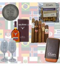 World Cup Dalmore Whisky and Cigars Sampler