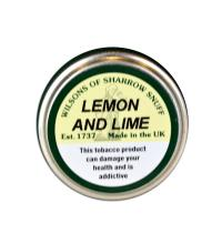 Wilsons of Sharrow - Lemon & Lime Snuff - Small Tin - 5g