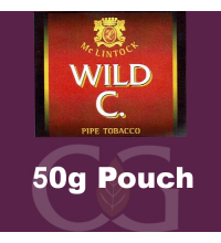 McLintock Wild C Pipe Tobacco 50g Pouch (Discontinued)