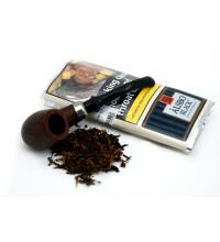 Alsbo Black Pipe Tobacco 50g Pouch