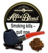 Turmeaus Alfies Blend Pipe Tobacco 50g Tin
