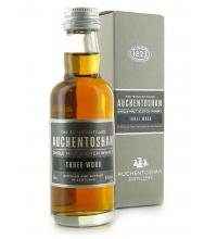 Auchentoshan Three Wood Single Malt Scotch Whisky Miniature - 5cl 43%