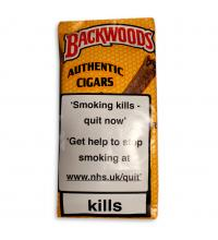 Backwoods Yellow  - 5 pack cigars