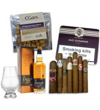 Benromach 10 Year Old Single Malt Scotch Whisky and Cigar Selection Pairing