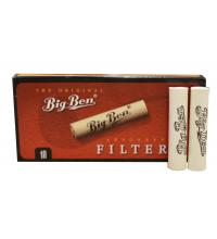 Big Ben 9mm Pipe Filters - Pack of 10