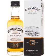 Bowmore 12 Year Old Miniature - 5cl 40%