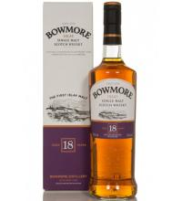 Bowmore 18 Year Old Malt Scotch Whisky - 70cl 43%